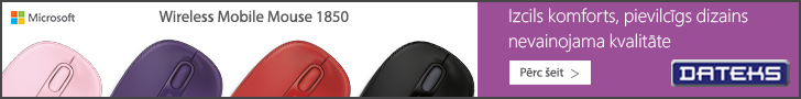 Microsoft Wireless Mobile mouse 1850 - augsts komforts, zema cena!