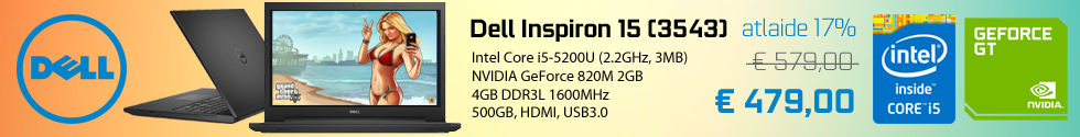 Dell Inspiron 15 (3543) Black, 15.6